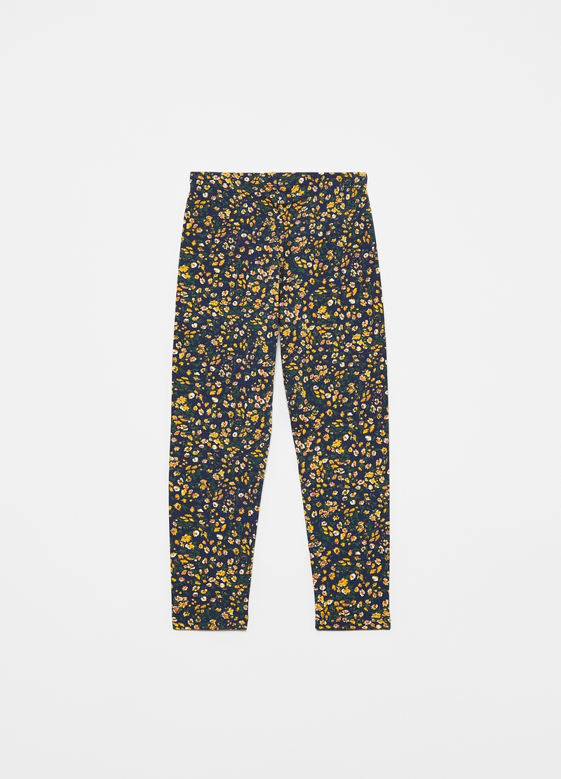 Leggings stampa floreale all-over image number null