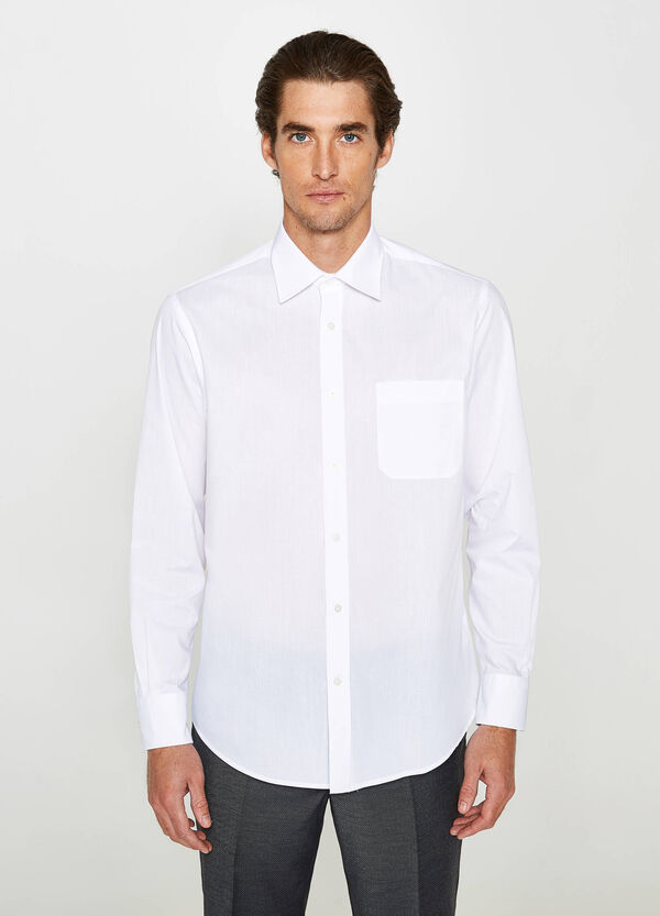 Camicia formale regular fit in cotone | OVS