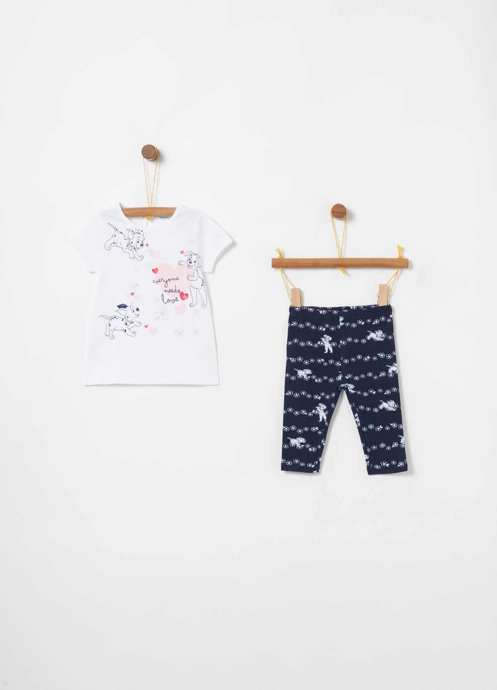 Jogging set in biocotton Disney Baby