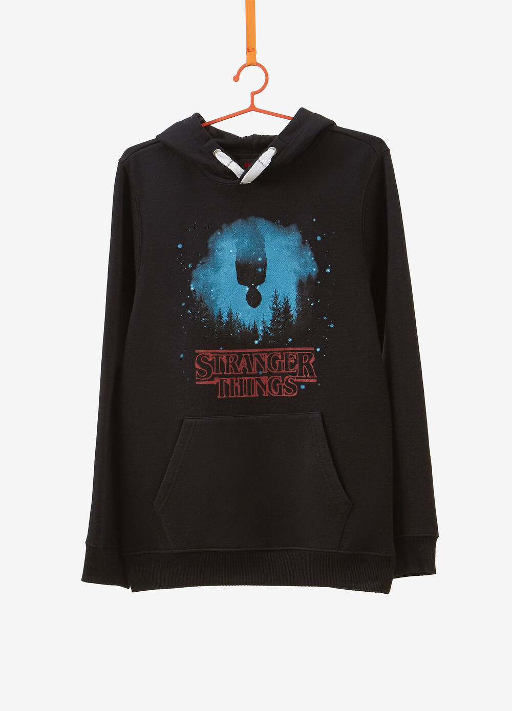 Sweatshirt in 100% cotton with Stranger Things print