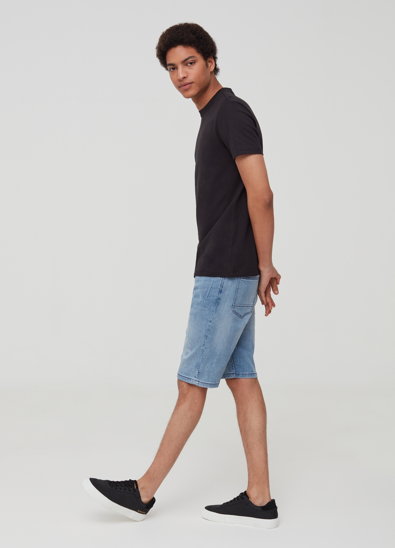 Five-pocket Bermuda shorts image number null