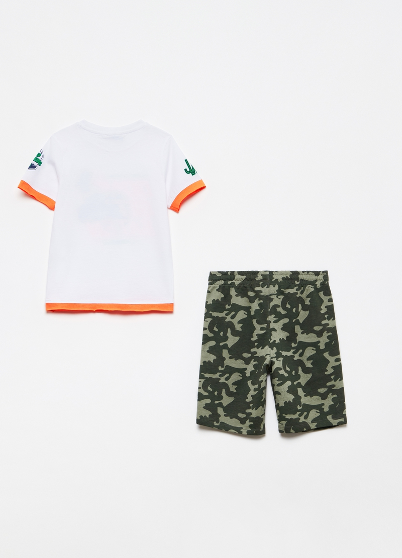 Jogging set with Jurassic World print image number null