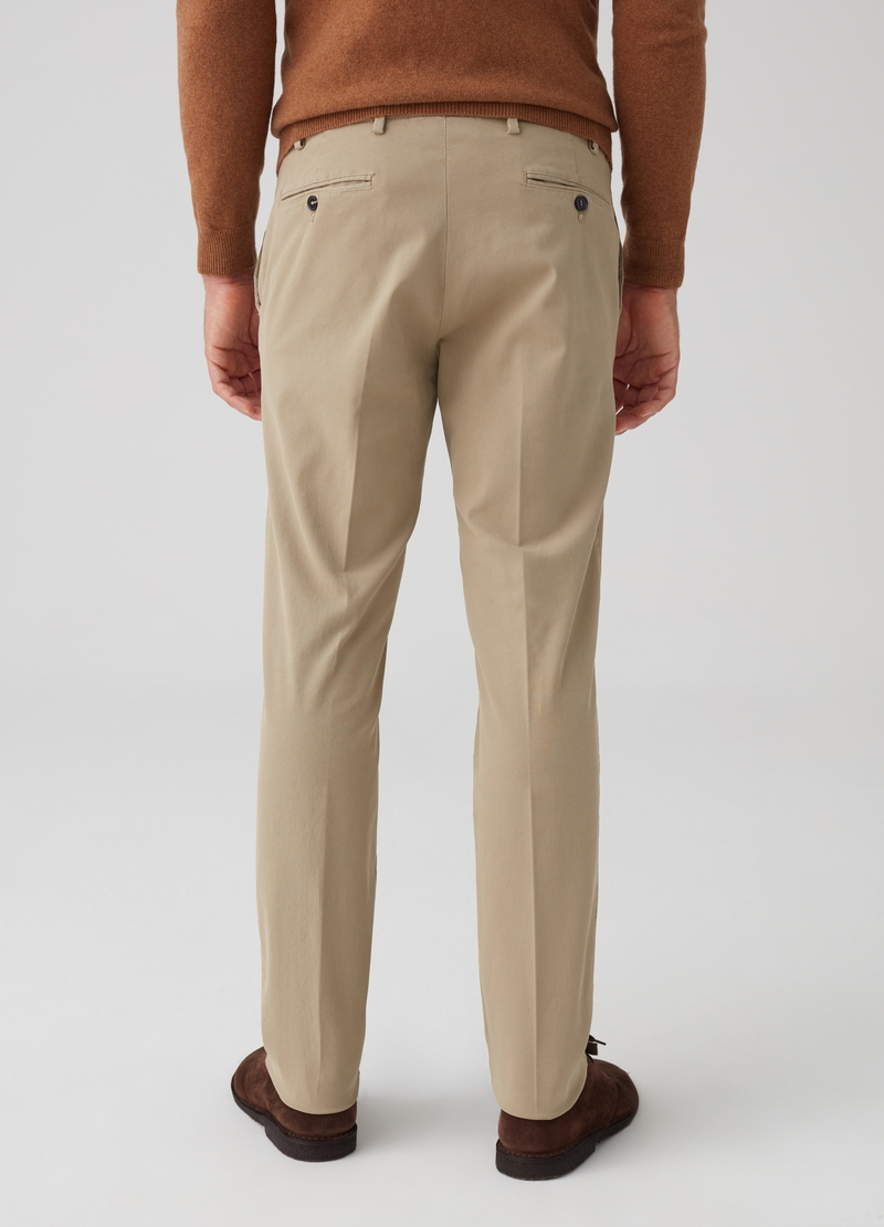 Pantalone in tricotine stretch Rumford image number null