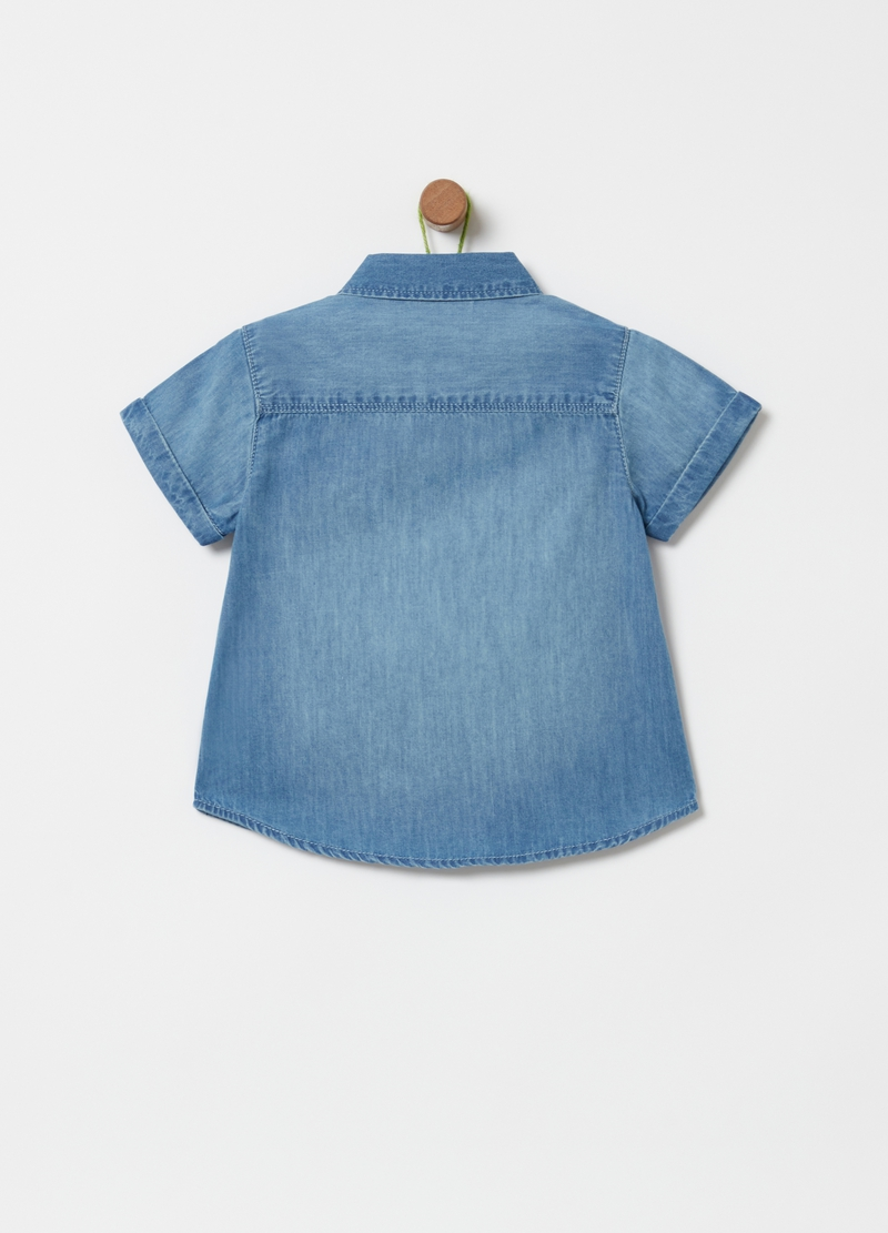 100% cotton denim shirt image number null