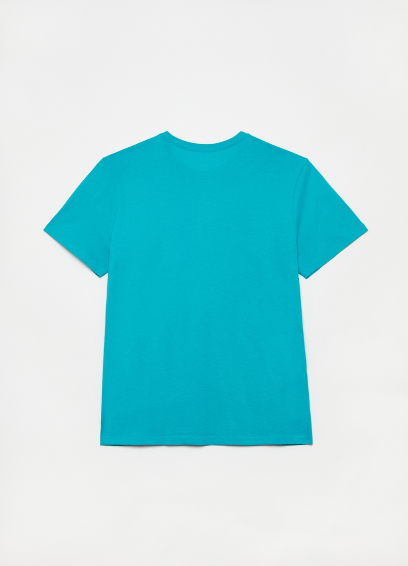 GAP cotton T-shirt with maxi logo print image number null