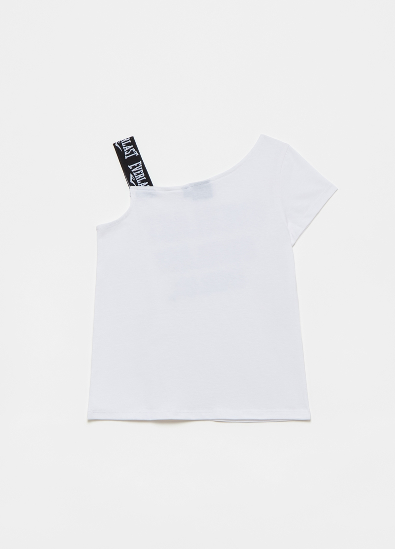 Everlast T-shirt with shoulder straps and sequins image number null