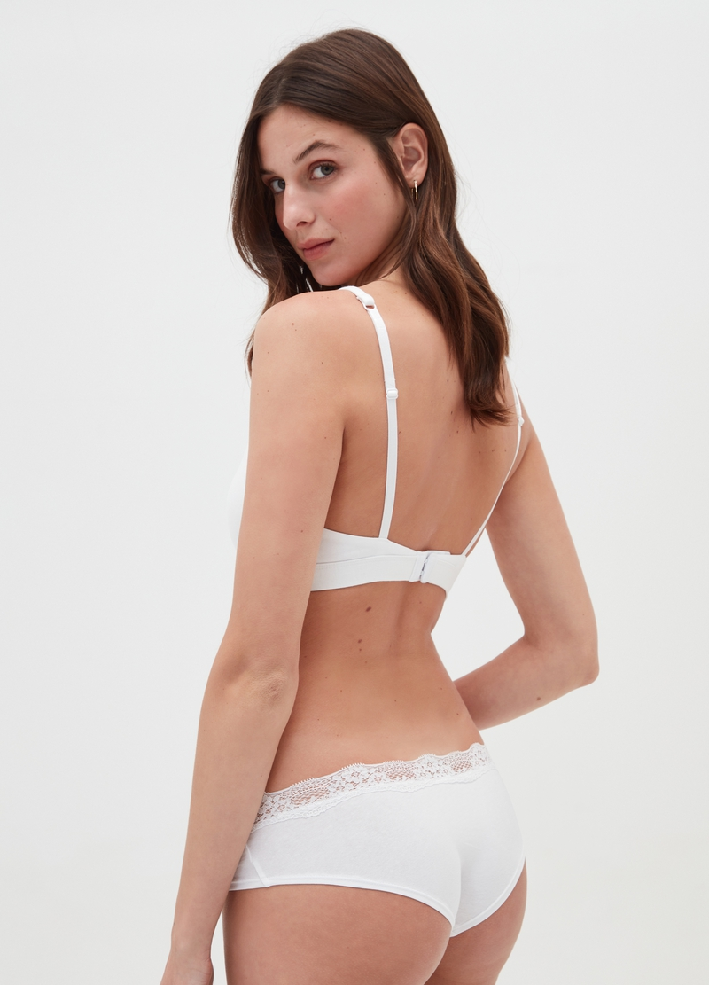 Two-pack triangle bras without underwiring image number null