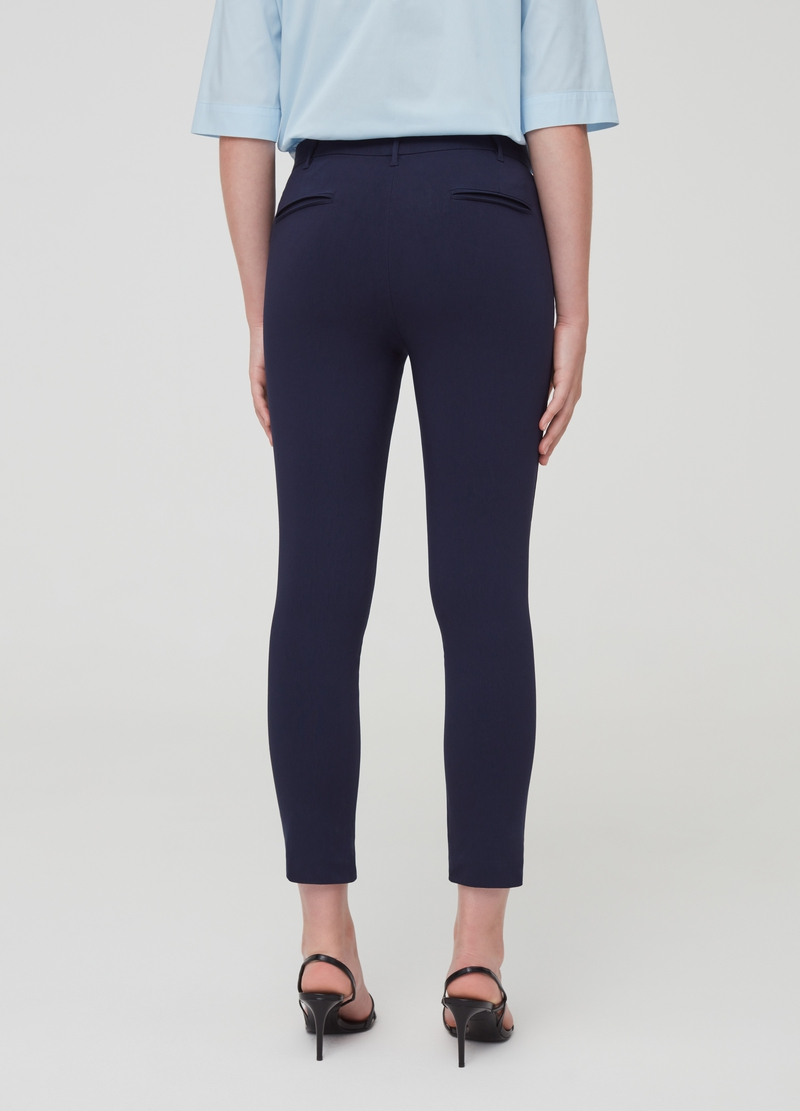 Pantaloni stretch con tasche image number null
