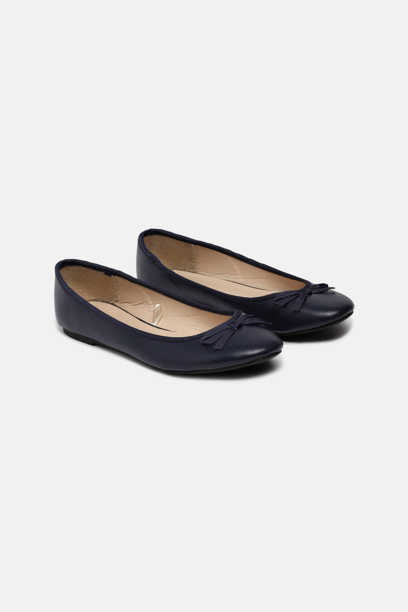 Ballet pumps with bow image number null