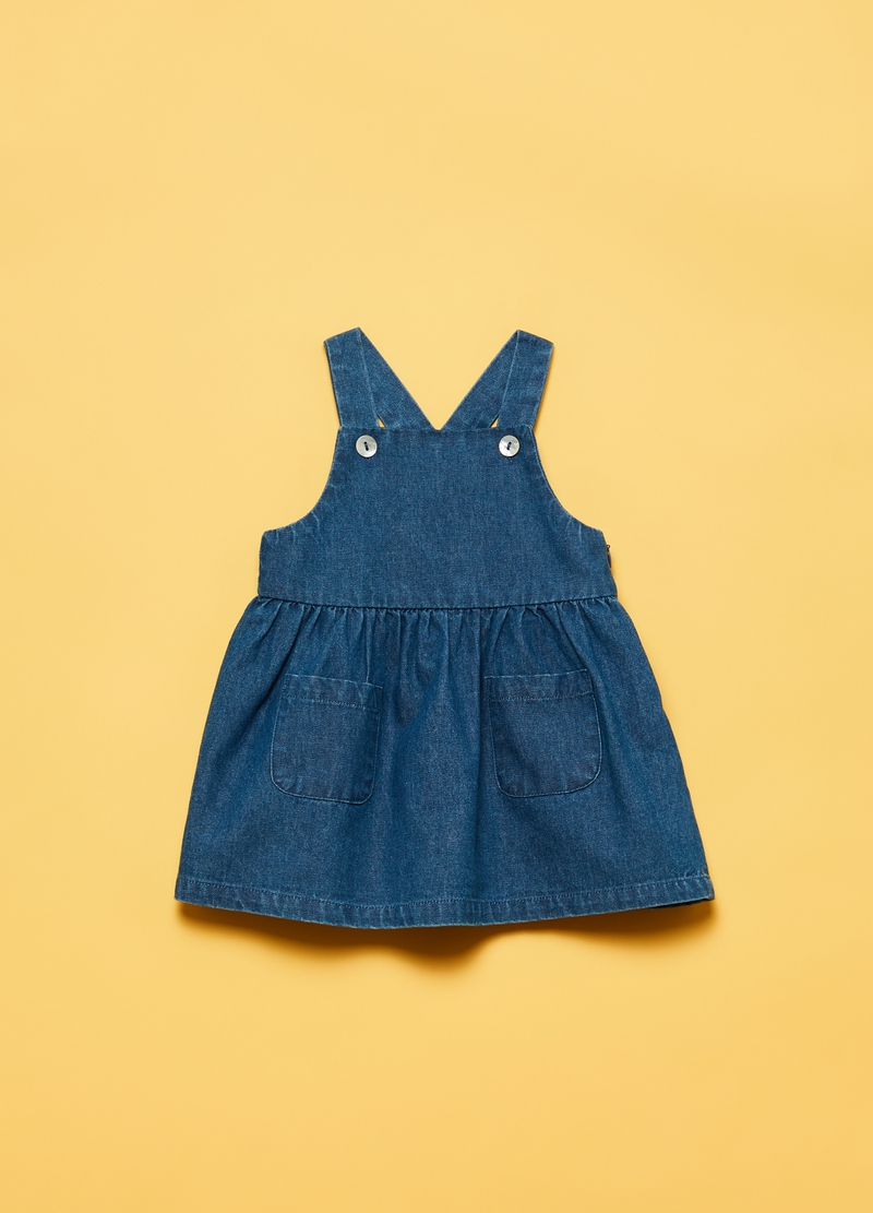 Pinafore and cardigan outfit image number null