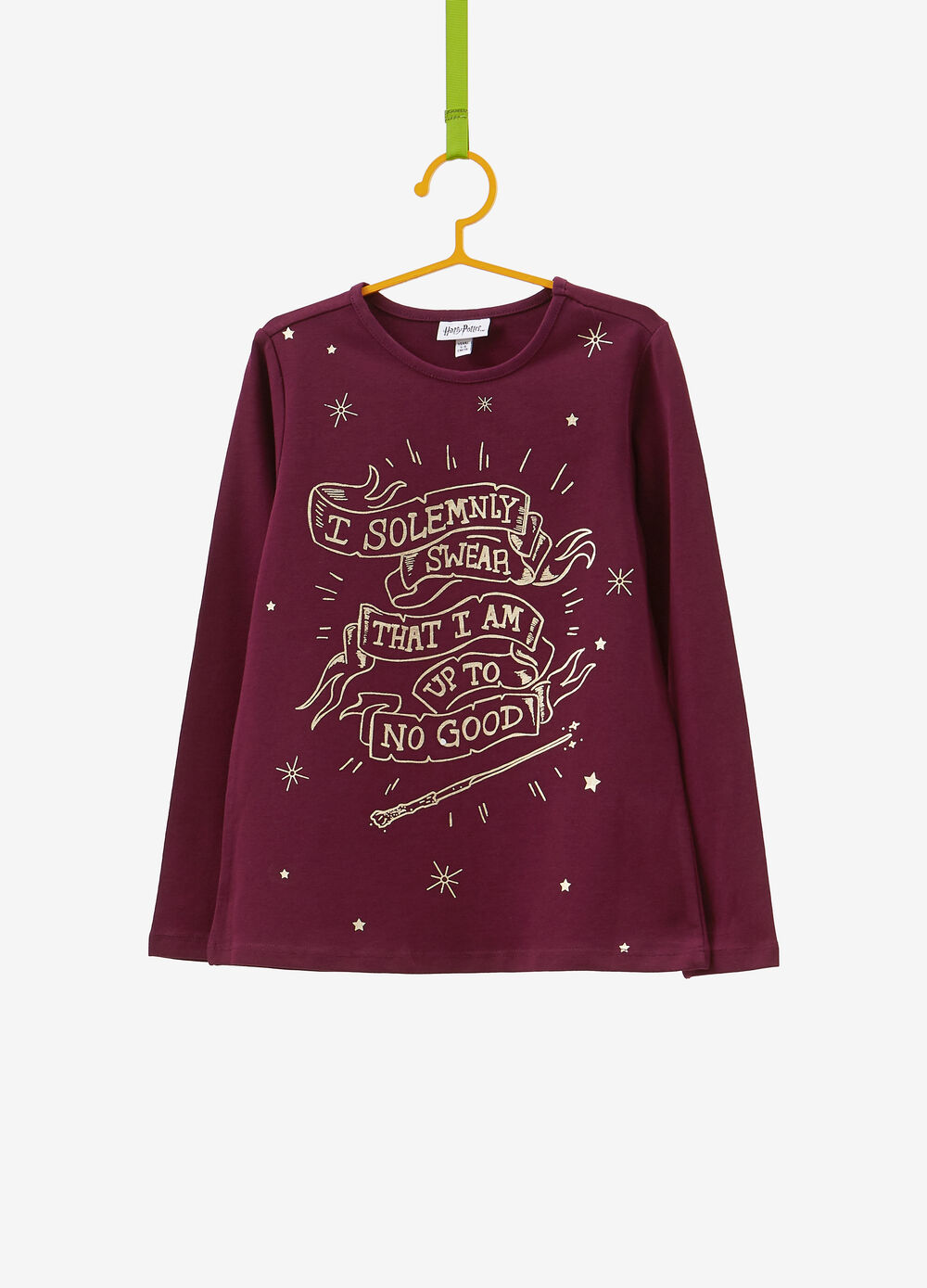 Harry Potter T-shirt with glitter print