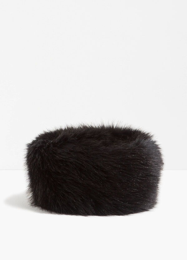 Faux fur hairband | OVS