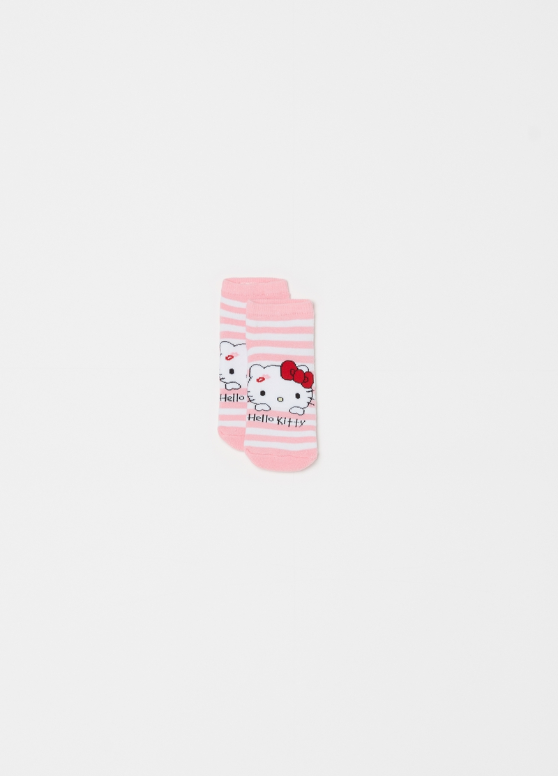 Calze antiscivolo a righe Hello Kitty image number null