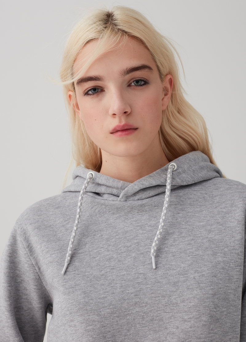 Organic cotton mélange hoodie image number null