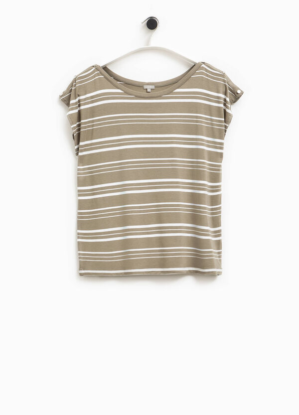 T-shirt a righe Smart Basic | OVS
