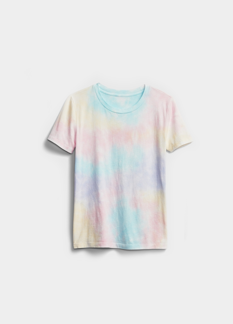 GAP T-shirt in cotone Tie Dye image number null