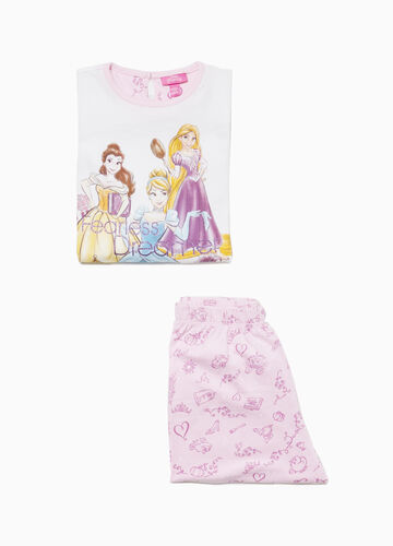 Cotton pyjamas with Disney Princess print