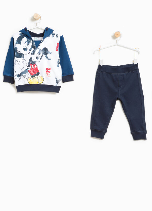 Mickey Mouse print tracksuit in 100% cotton | OVS