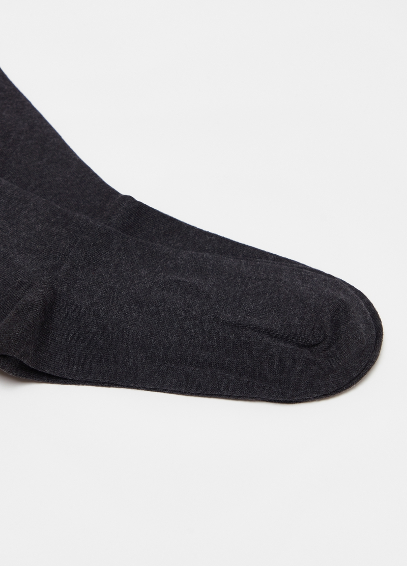 Two-pair pack short socks in cotton blend image number null