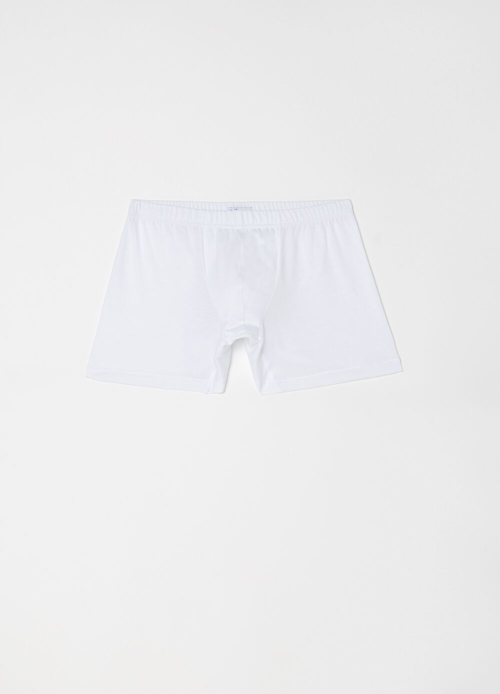 100% cotton boxer shorts with elasticated waist