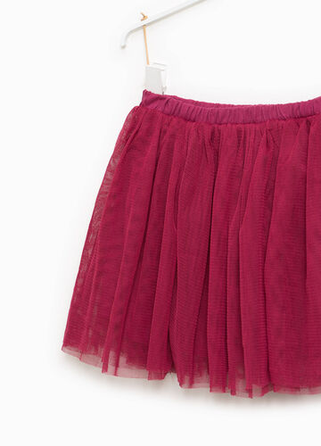 100% cotton tulle skirt with lining