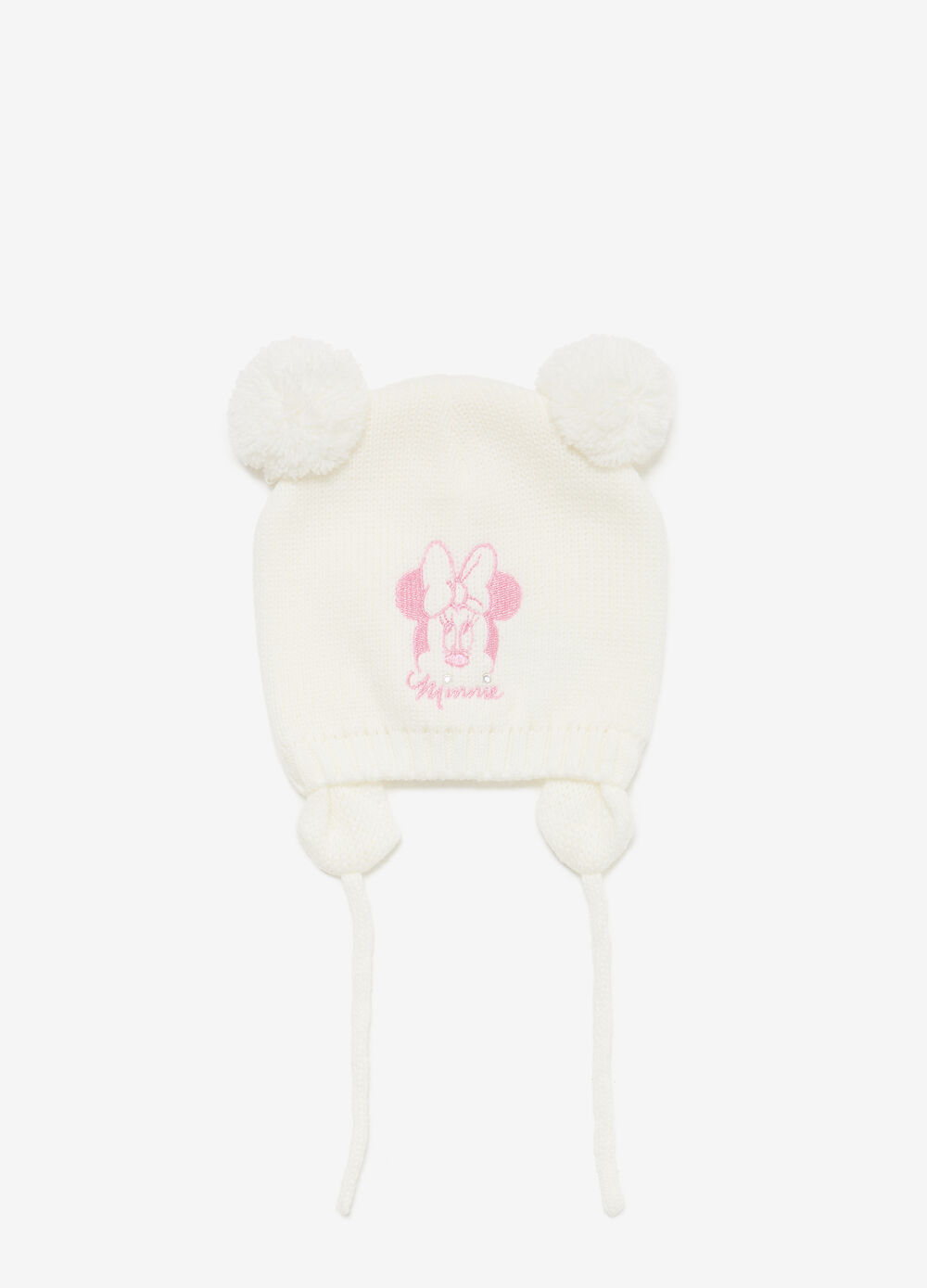 Knitted Minnie beanie cap