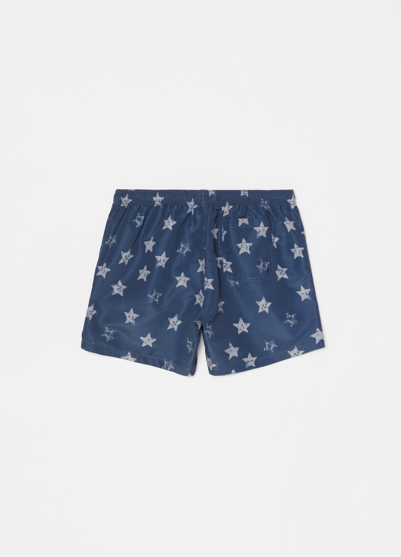 Swimming trunks with stars pattern image number null