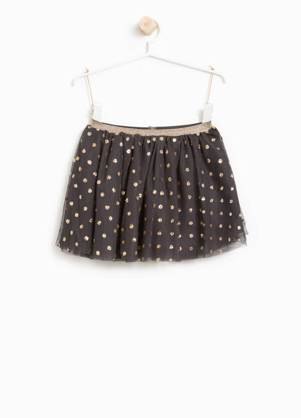 Gonna in tulle a pois glitterati | OVS