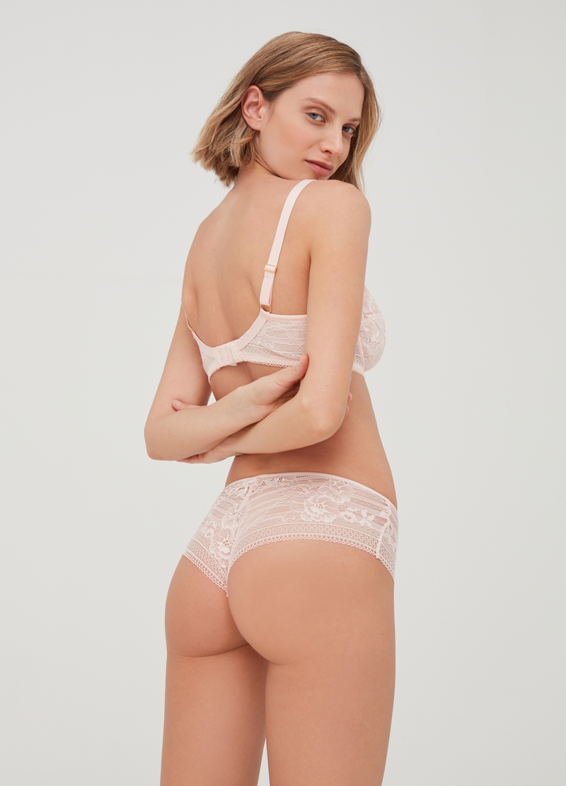 Culotte hipster in pizzo image number null