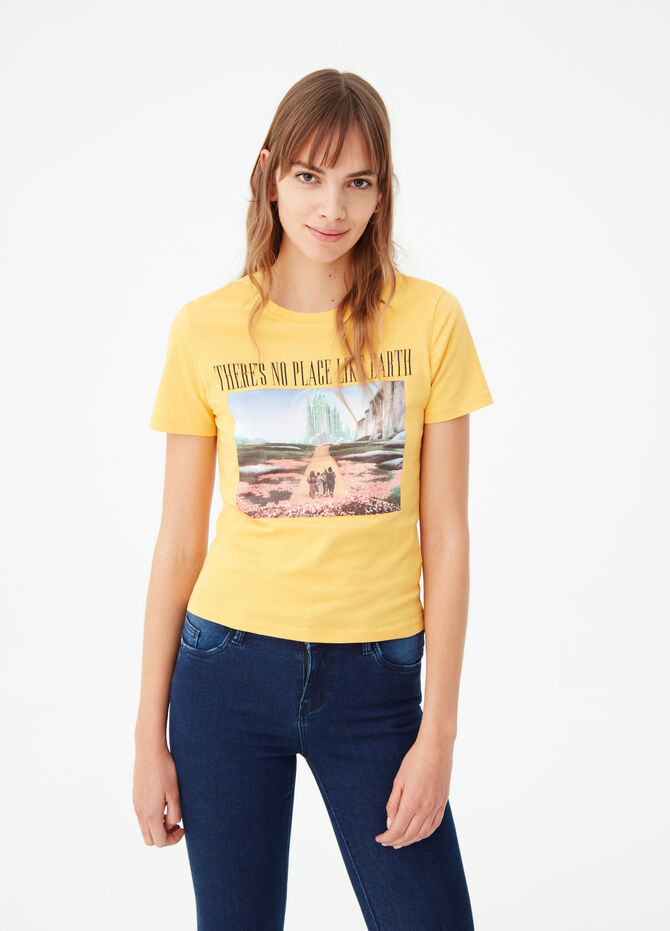Wizard of Oz Earth Day T-shirt in biocotton