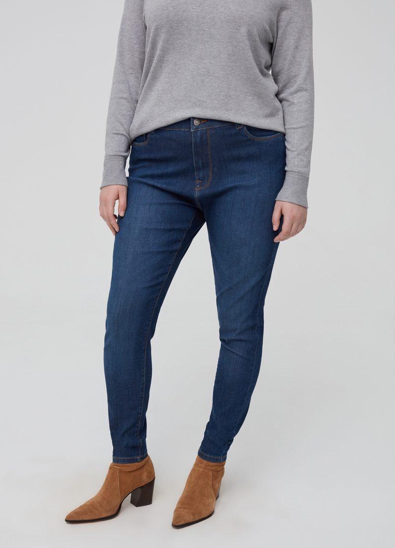 Jeans skinny fit stretch Curvy image number null
