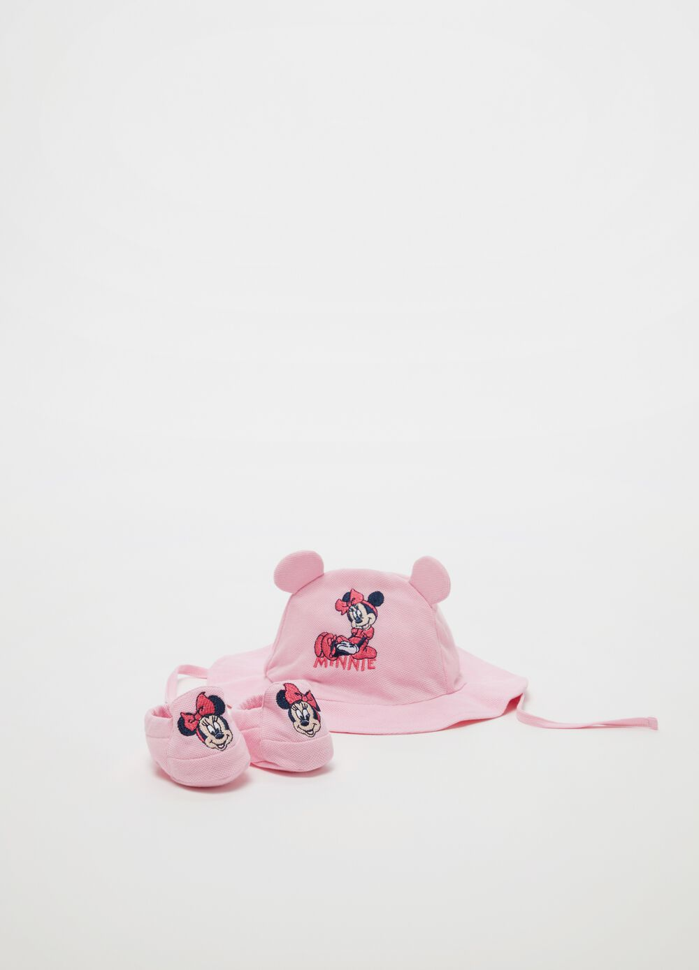 Disney Baby Minnie Mouse hat and shoes set