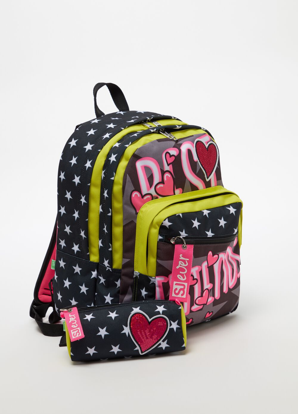 SJ EVER backpack and bag
