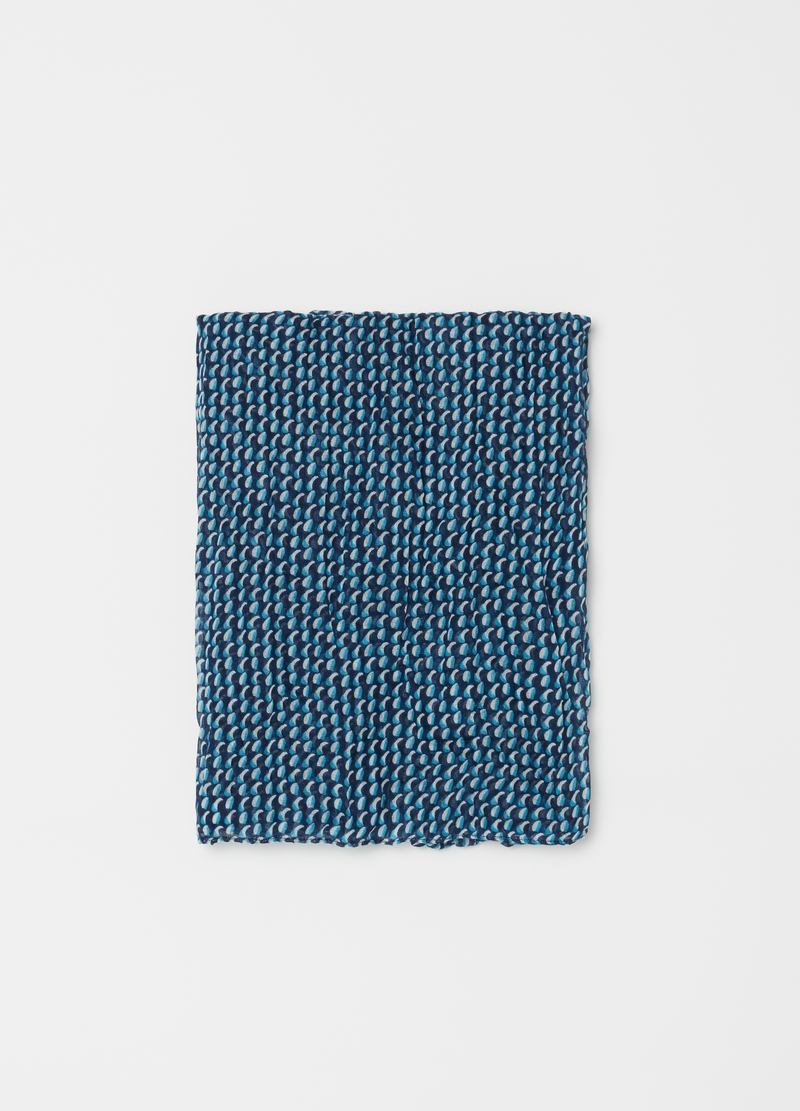 Scarf with micro geometric pattern image number null