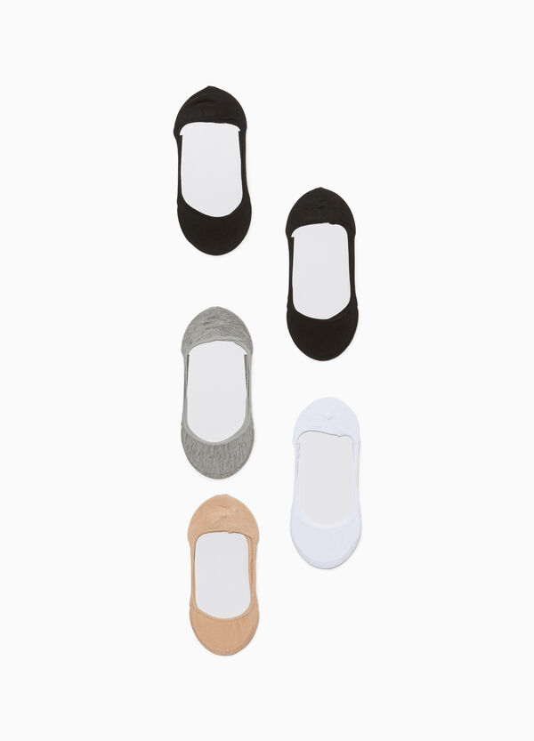 Five-pack shoe liners