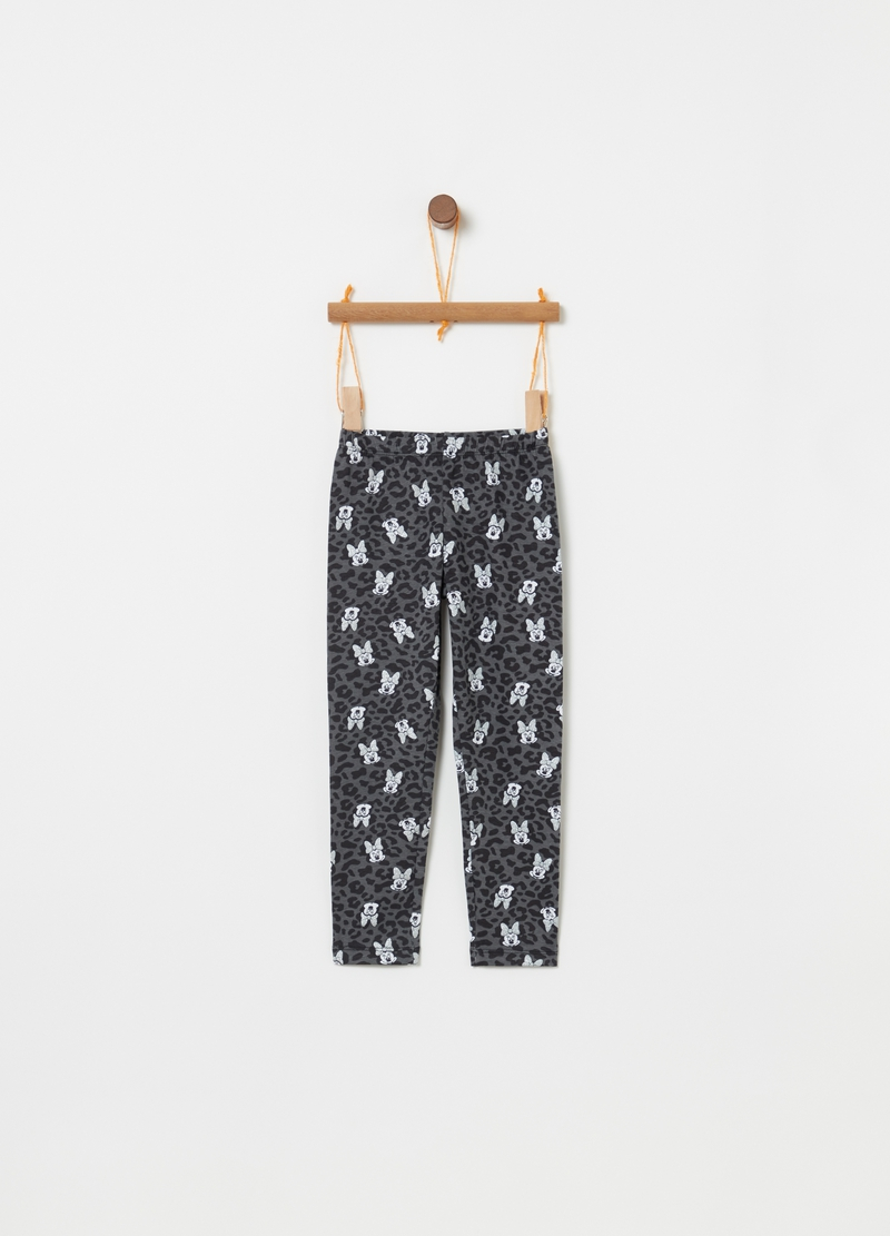 Leggings Minnie e animalier all-over image number null