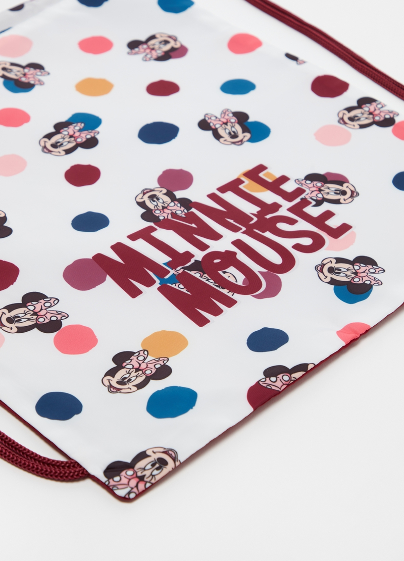 Drawstring backpack with Disney Minnie Mouse pattern image number null