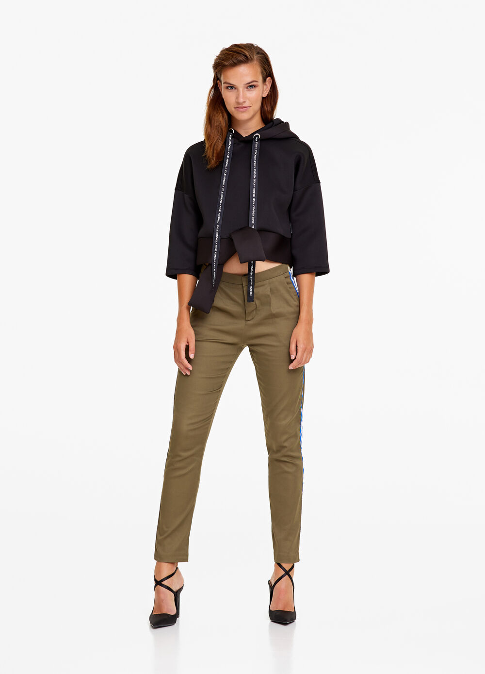 K+K for OVS stretch trousers