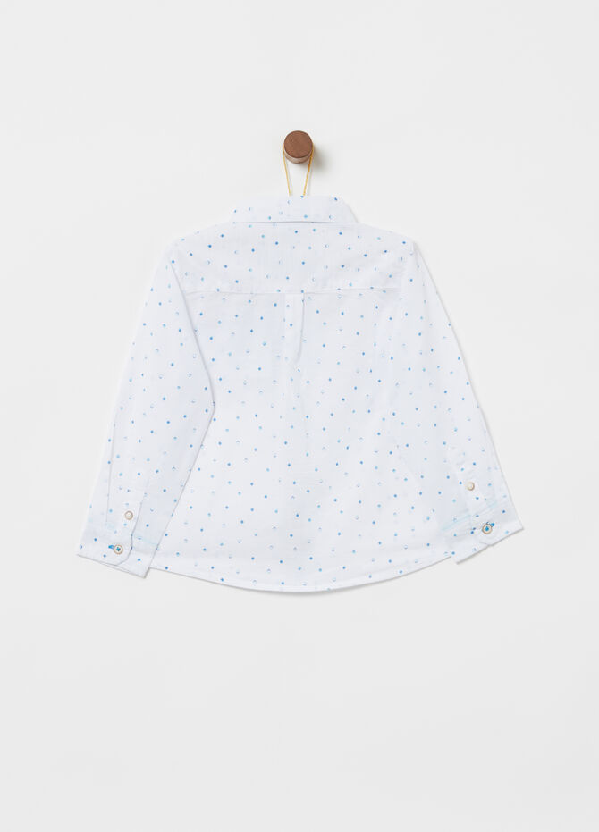 100% cotton shirt with all-over print