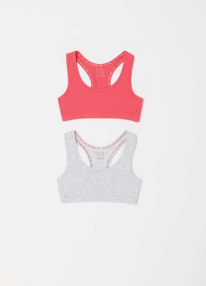 Set due top sportivi biocotton