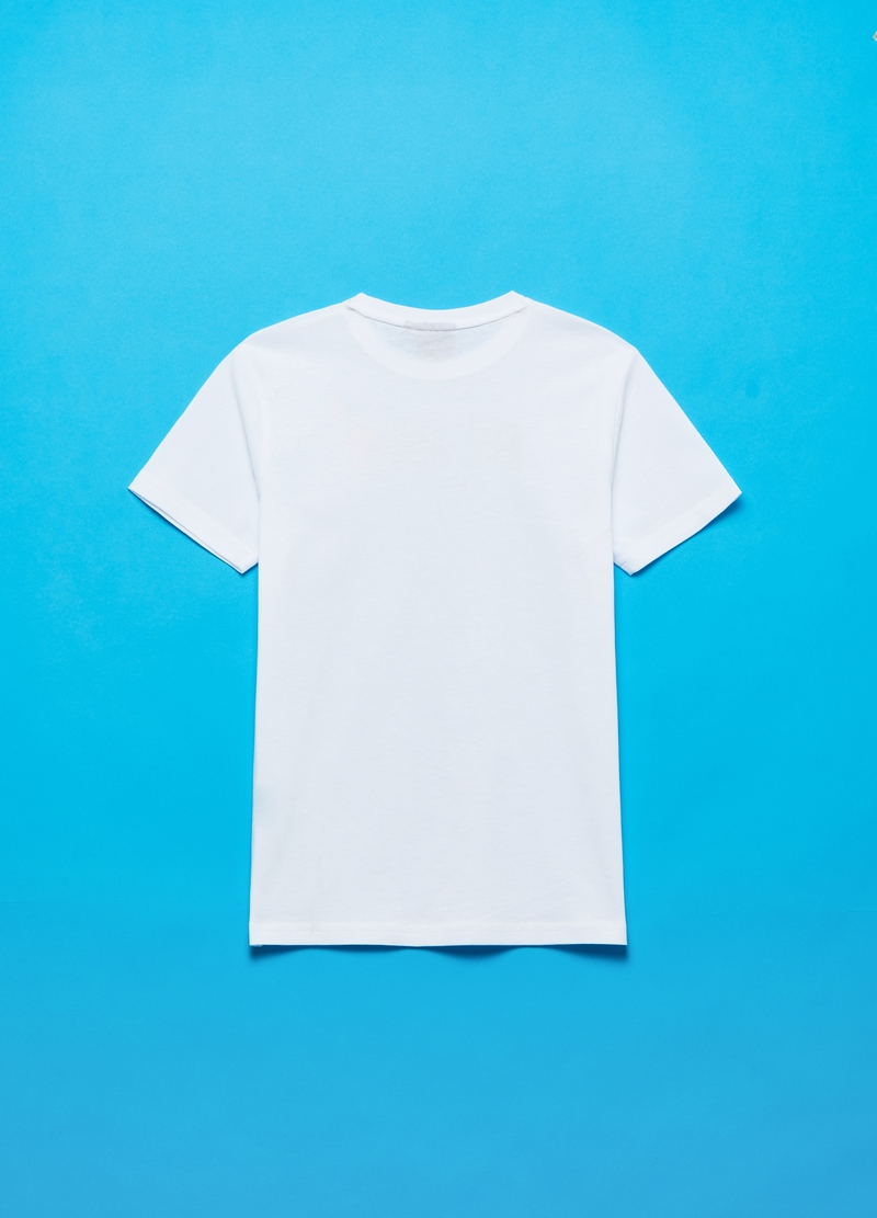 Cotton T-shirt with Fortnite print image number null