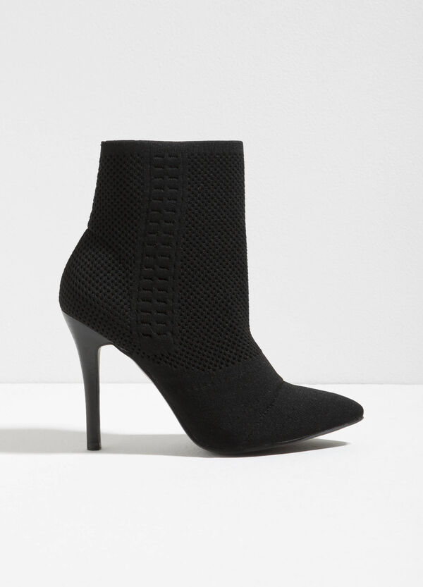Ankle boots with openwork upper | OVS
