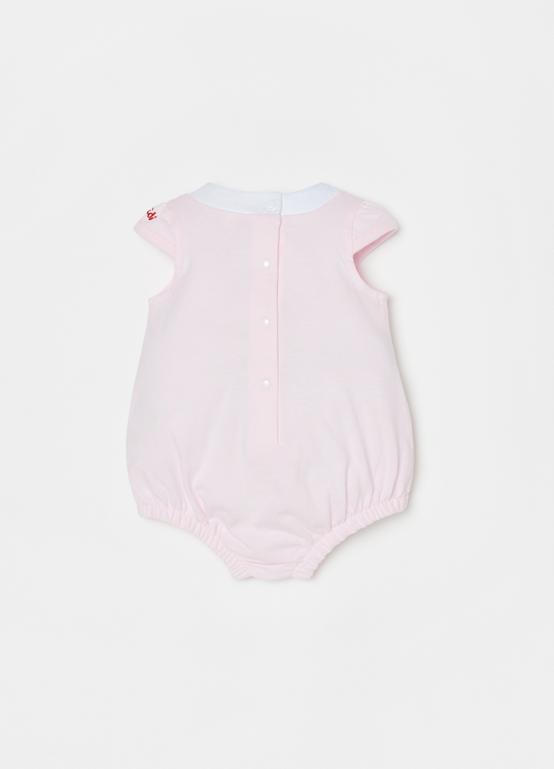 Cotton romper suit with Trudi print image number null