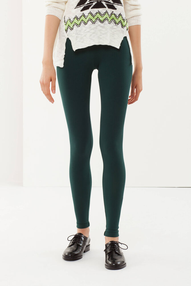 Leggings cotone stretch