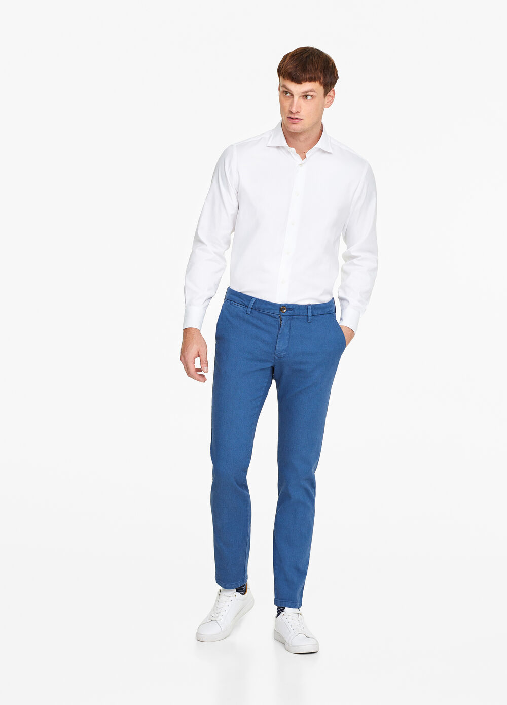 Pantaloni chino slim fit stretch