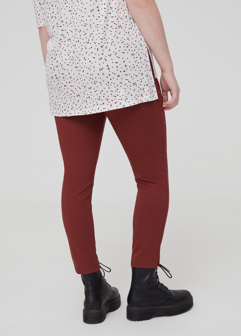 Curvy stretch trousers image number null