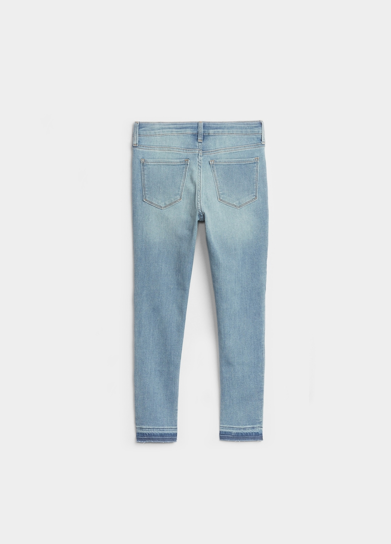GAP Jeggings ankle fit con strappi image number null