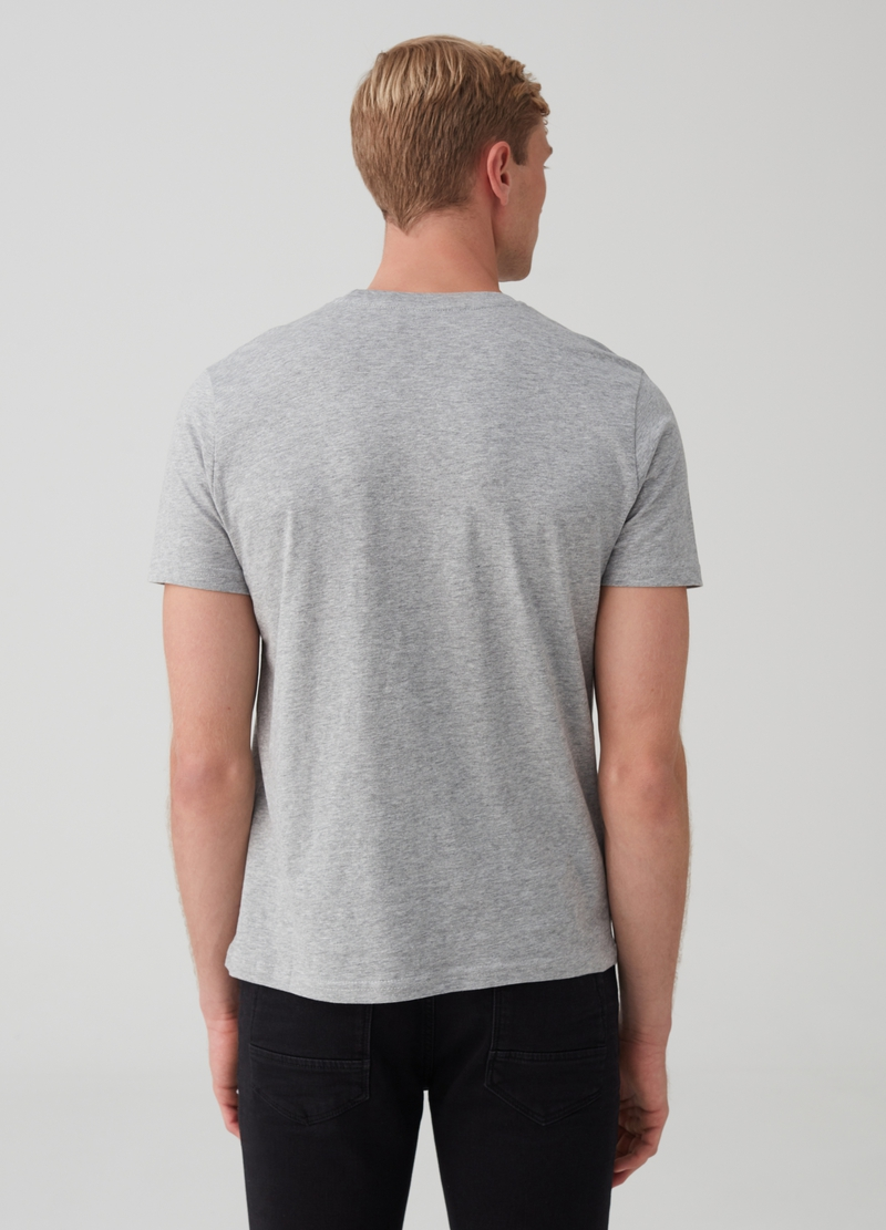 Mélange T-shirt with Christmas print image number null