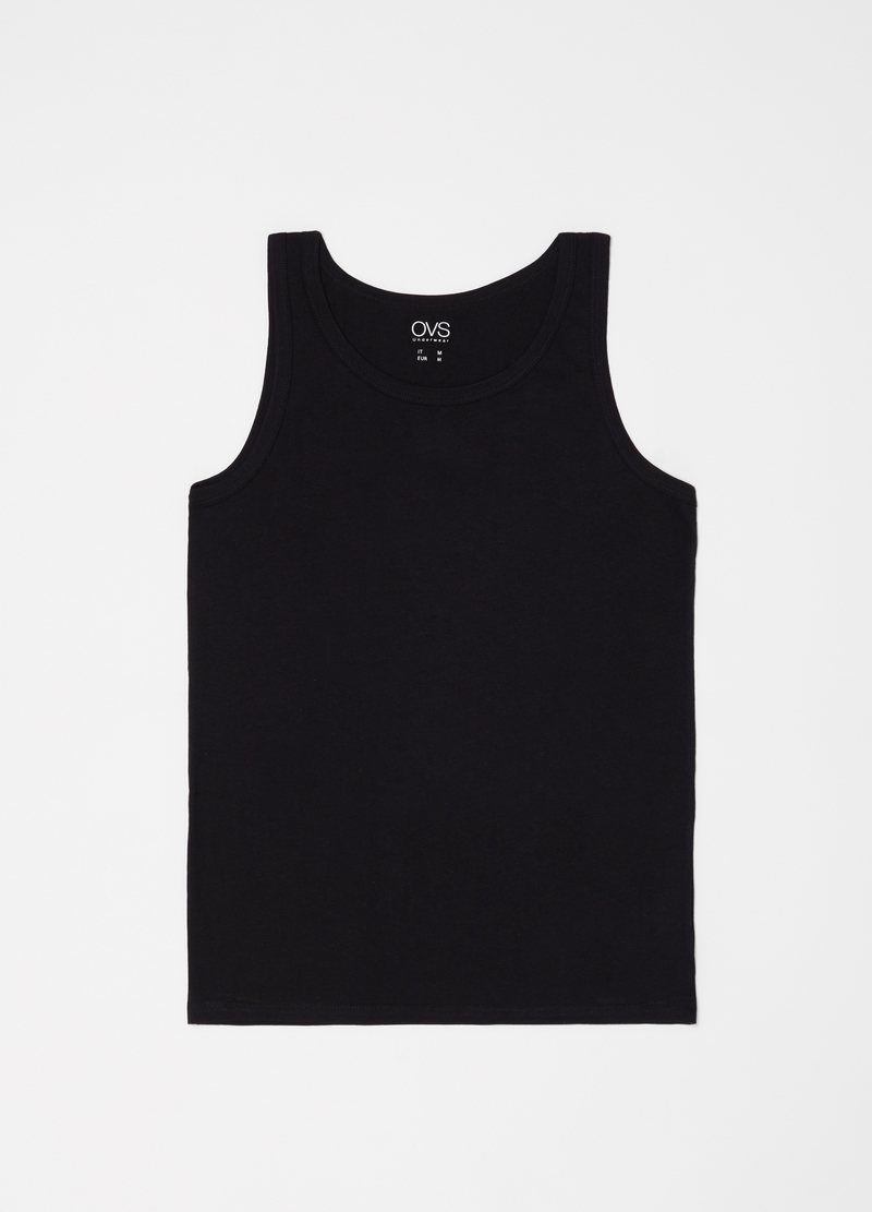 Two-pack racerback tops in 100% cotton image number null