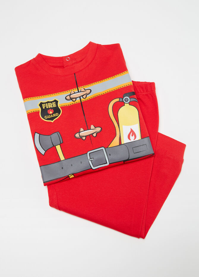 Fire fighter pyjamas in 100% cotton